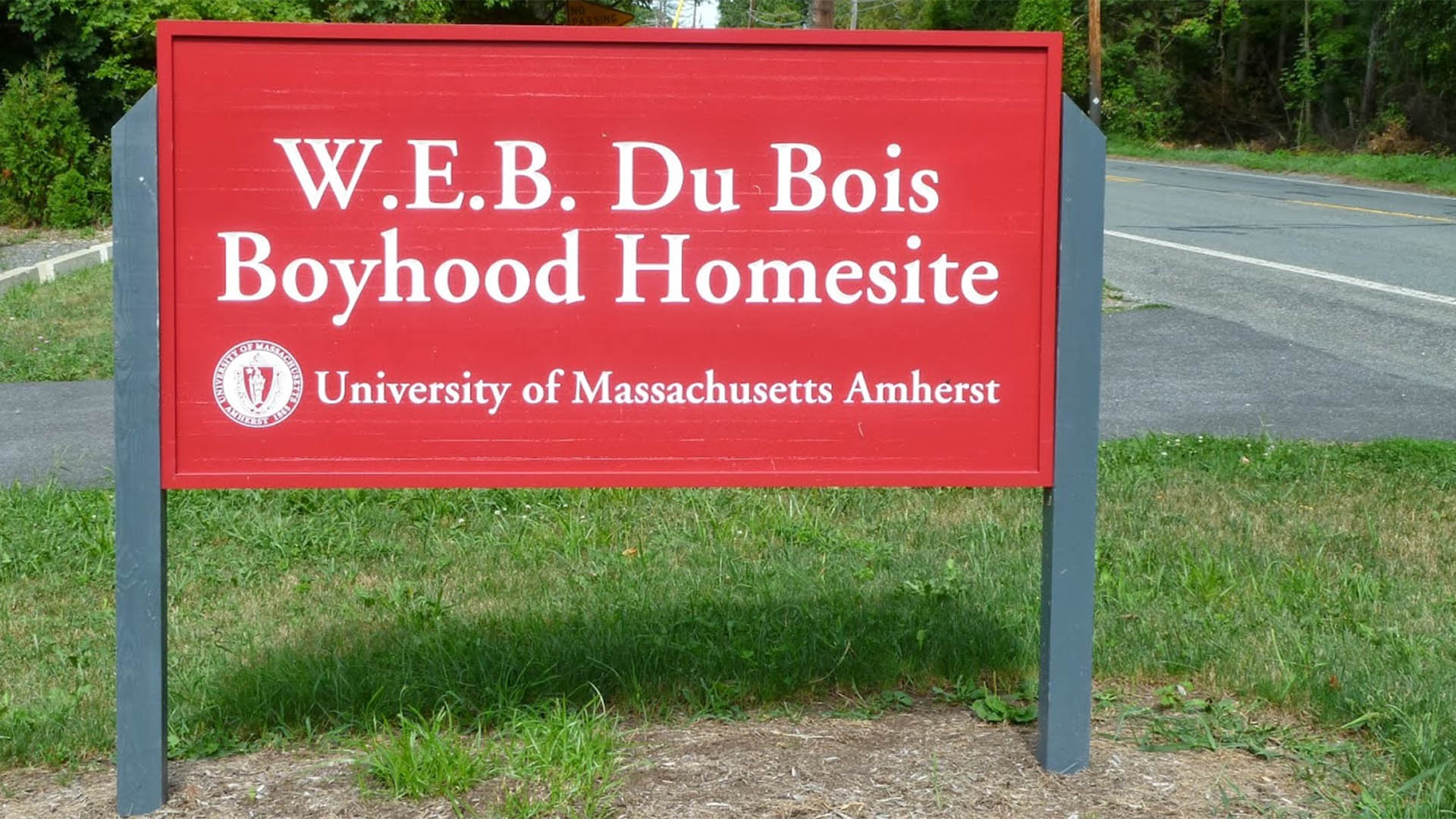 The W.E.B. Du Bois Homesite is Administered by the University of Massachusetts Amherst