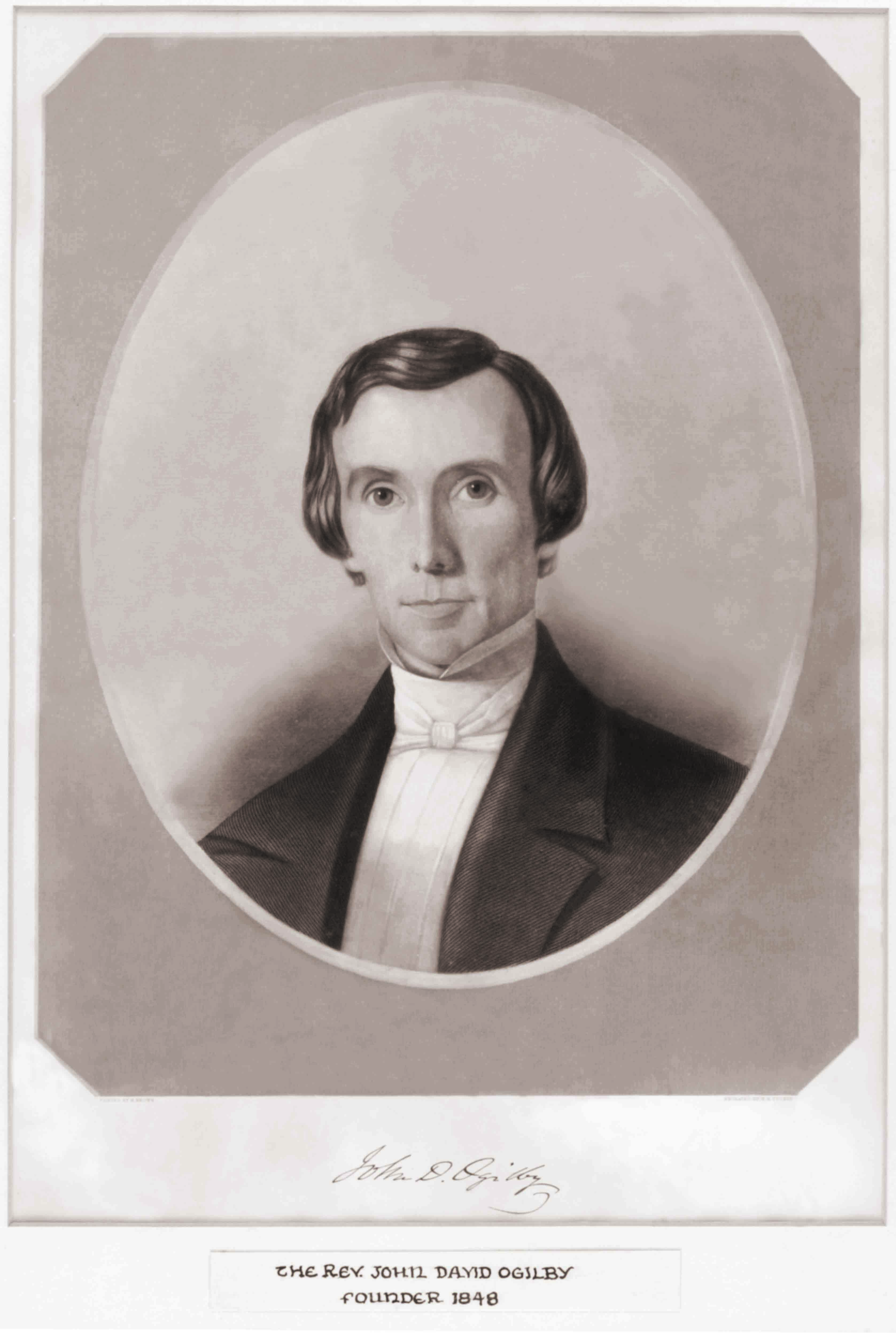 Picture of the Reverend John David Ogilby