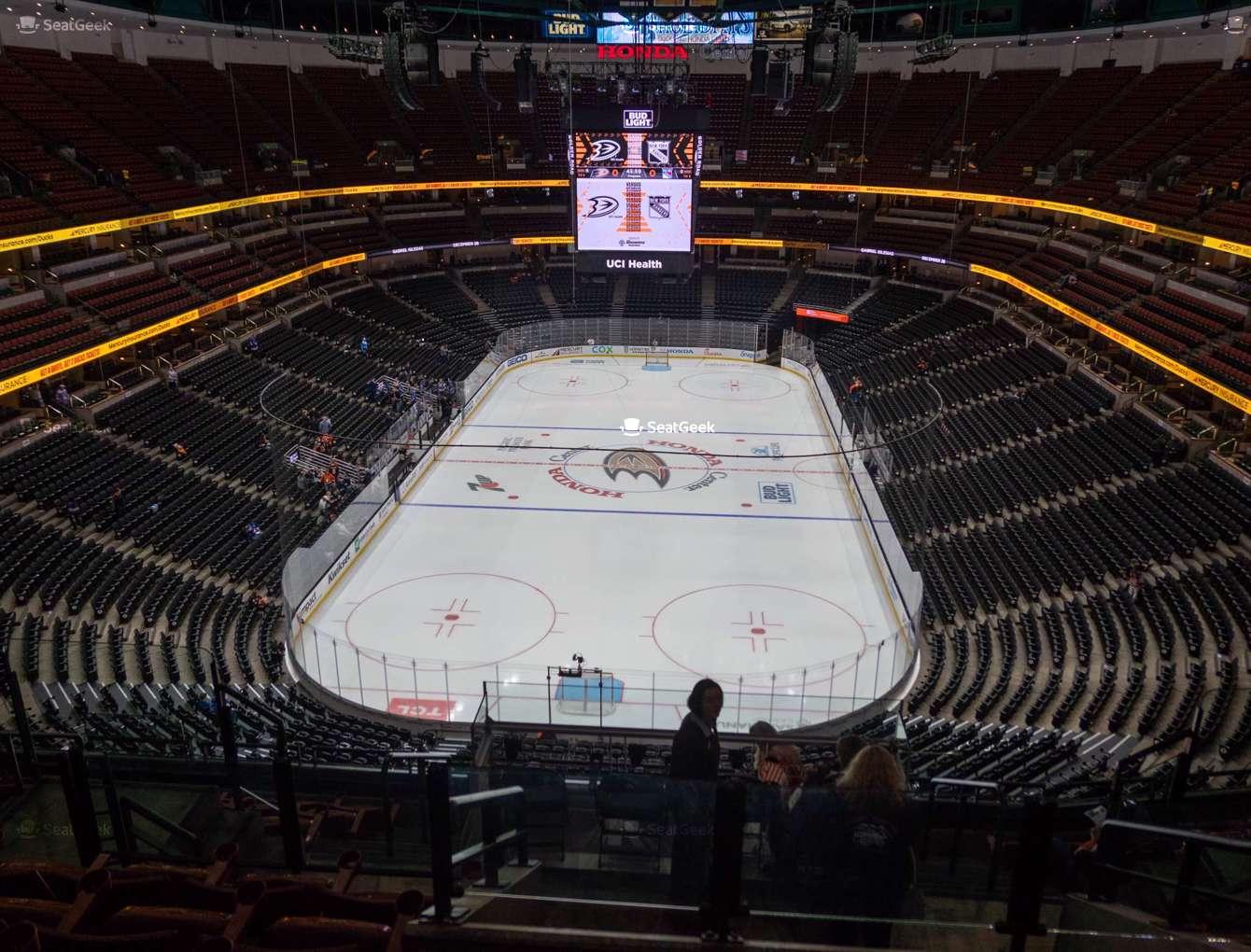 Inside the Honda Center