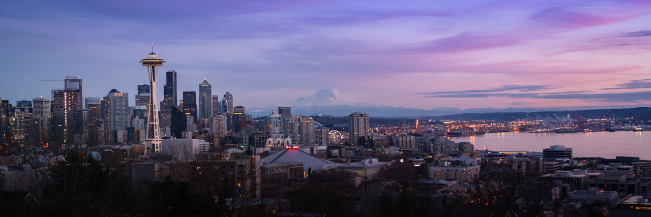 Encapsulating the Seattle Space Needle and Mount Rainier, the view from Kerry Park captures the beauty of the Seattle skyline.