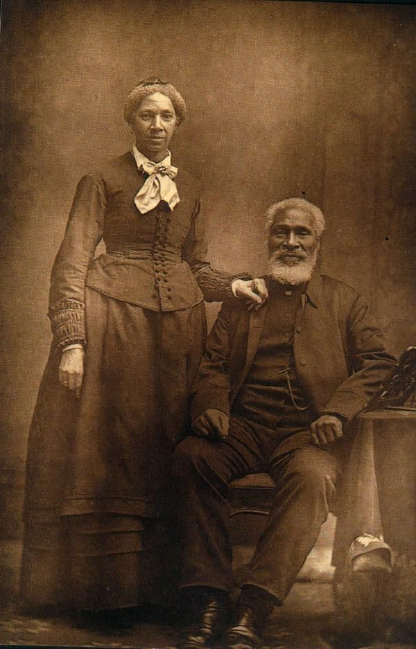 Rev. Josiah Henson and his second wife, Nancy