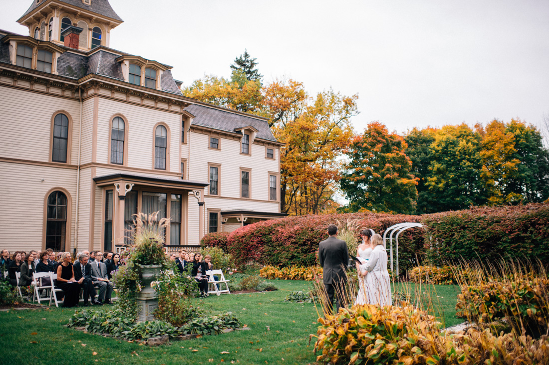 As one would expect, the Park-McCullough House is a popular wedding venue.