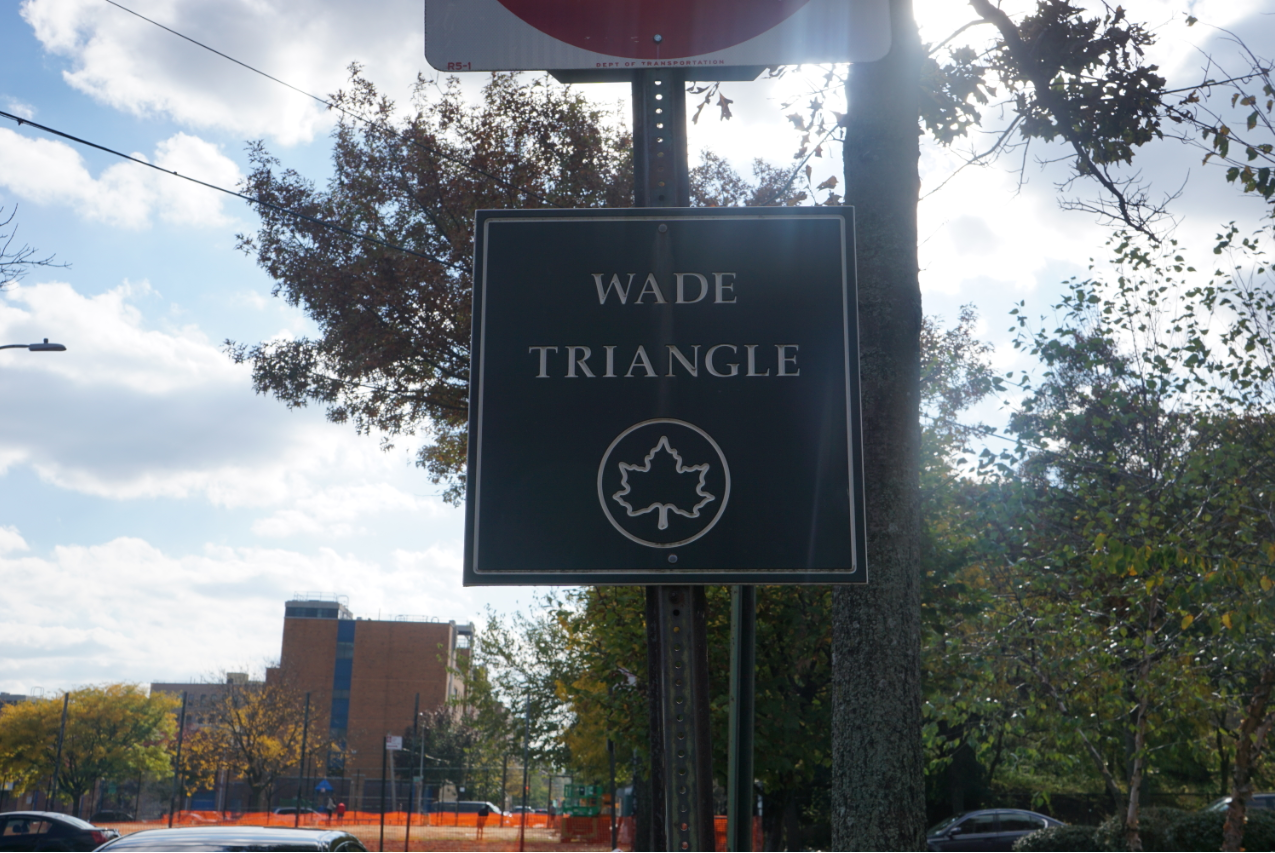 Wade Triangle Sign (11/2/19)