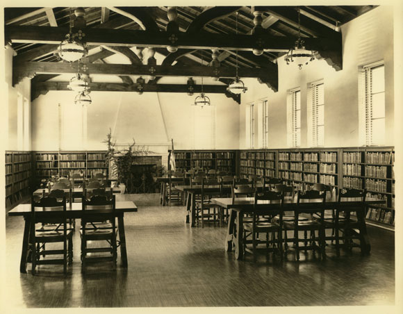 North Branch Library, interior (1936)
