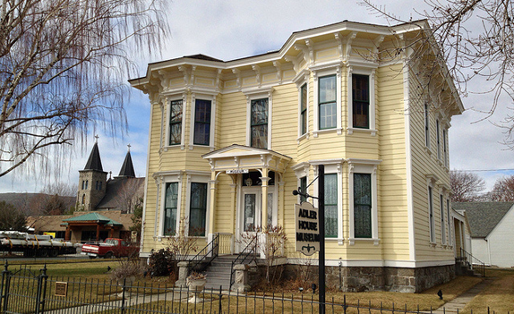 The Leo Adler House Museum was built in 1890 and was the home of millionaire magazine seller, Leo Adler. It is operated by the Baker Heritage Museum.
