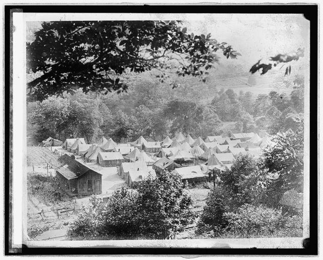 Lick Creek Tent Colony (1921)