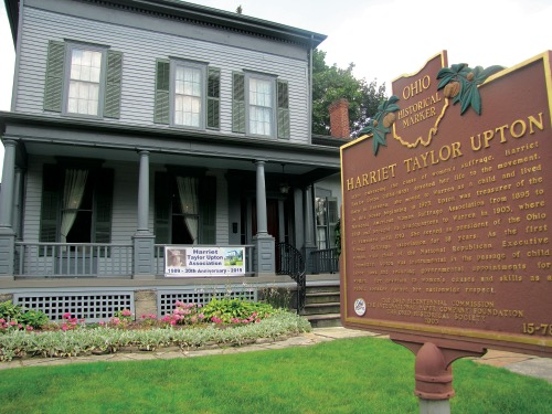 Harriet Taylor Upton House and Ohio Historical Marker