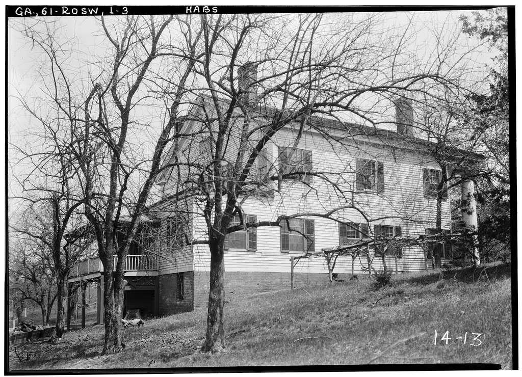 Bulloch Hall, ca. 1839