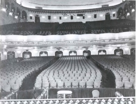 The auditorium, pre 1970s