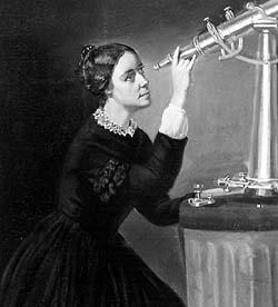 Portrait of Maria Mitchel by Herminia B. Dassel, ca. 1851