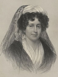 Drawing of Emma Willard