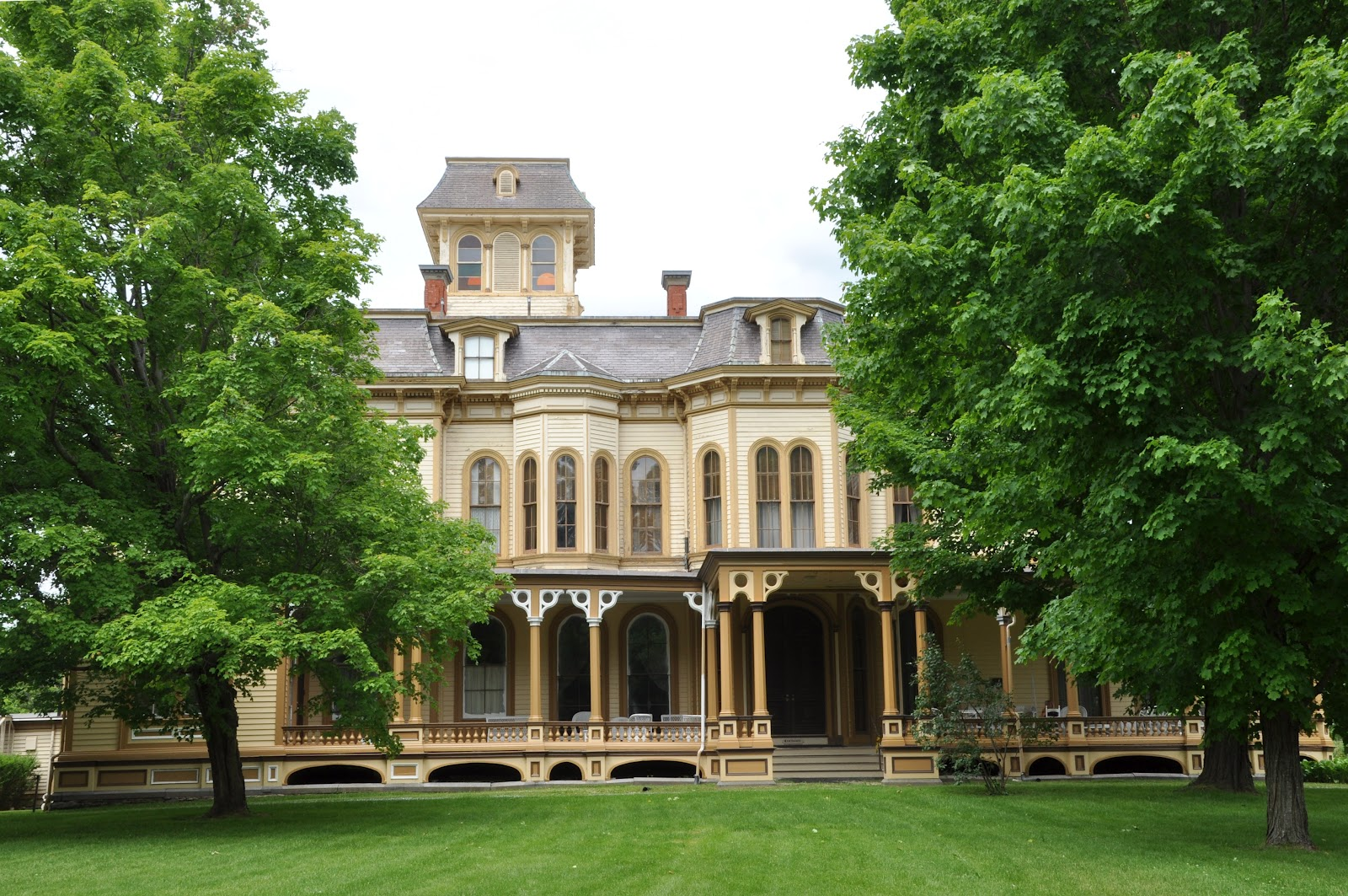 The Park-McCullough House truly is a Victorian masterpiece in the heart of New England.