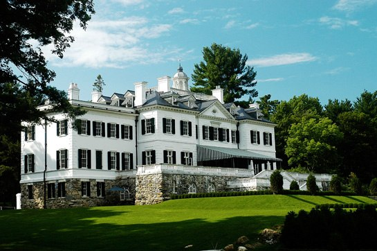 The Mount, Edith Wharton's estate in Lenox, Massachusetts