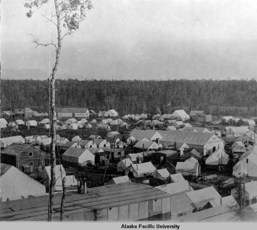 """Tent City"" 1915"