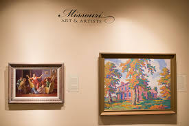 A few works of art displayed at the museum