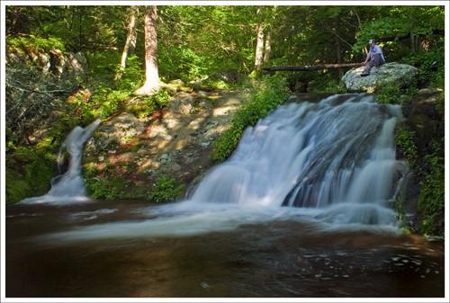 Waterfall near Rapidan Camp
