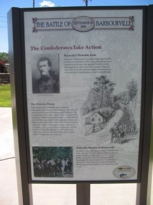 Battle of Barbourville site panel 2