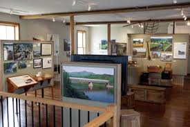 Inside of the Connecticut River Museum