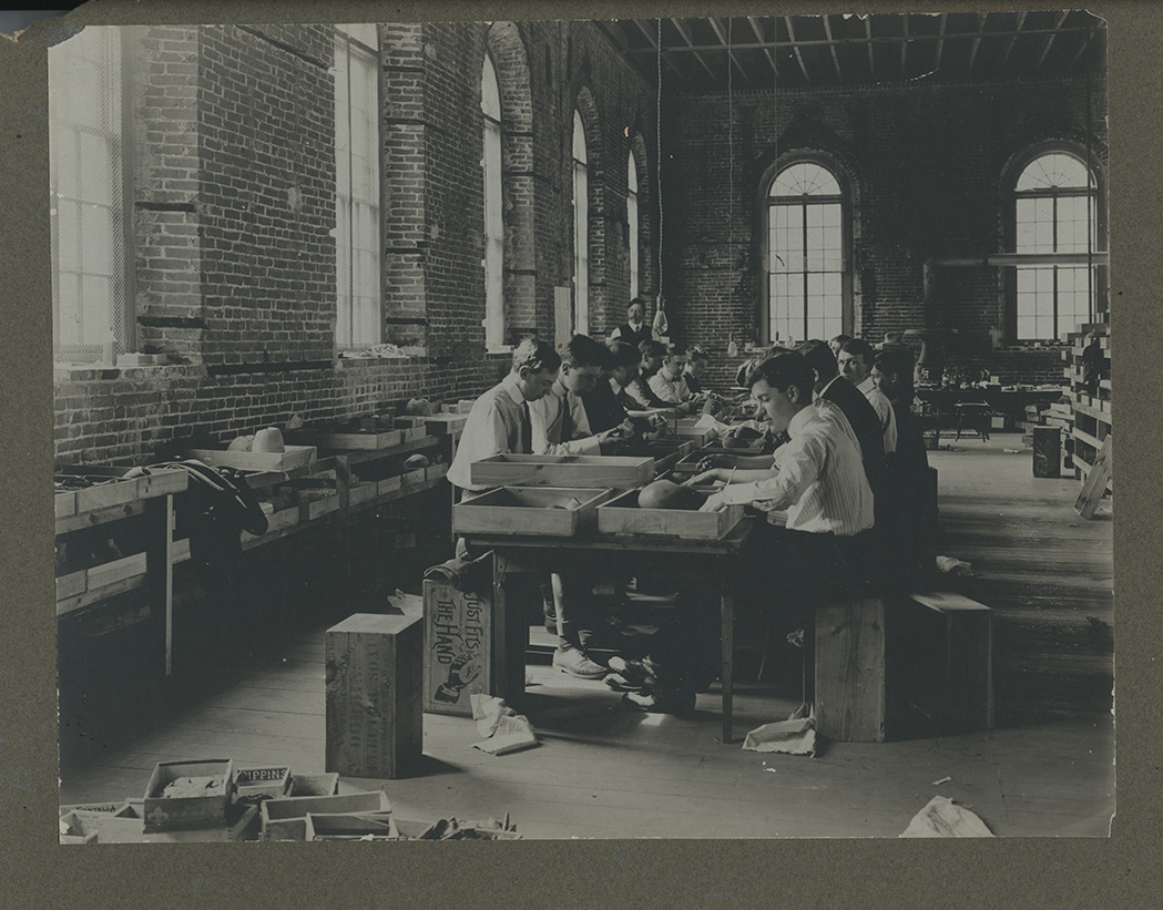 Student working, Robert S. Perabody Institute
