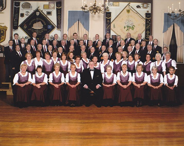 The Current Teutonia Singers