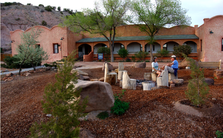The Overview of the Ojo Caliente Mineral Springs Resort & Spa