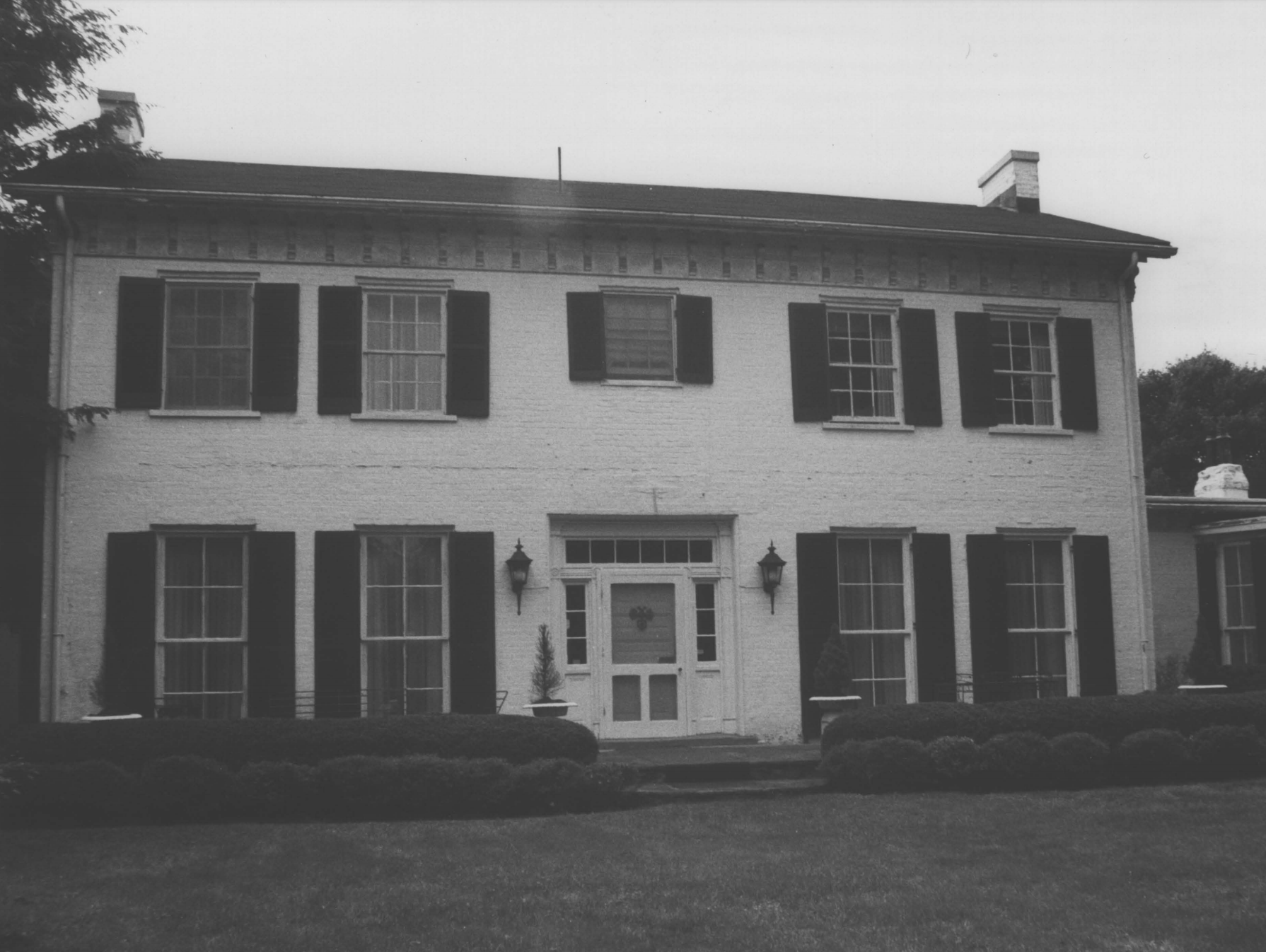 The house, pictured in 1980