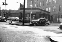 The Herndon building in the 1940s.