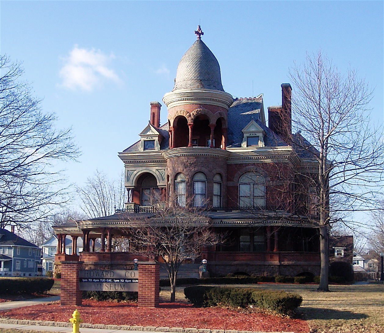 Recent photograph of the Seiberling Mansion.