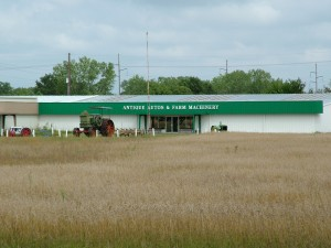 Antique Farm Machinery Building