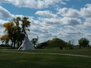Replica of Pawnee Earth Lodge and Village