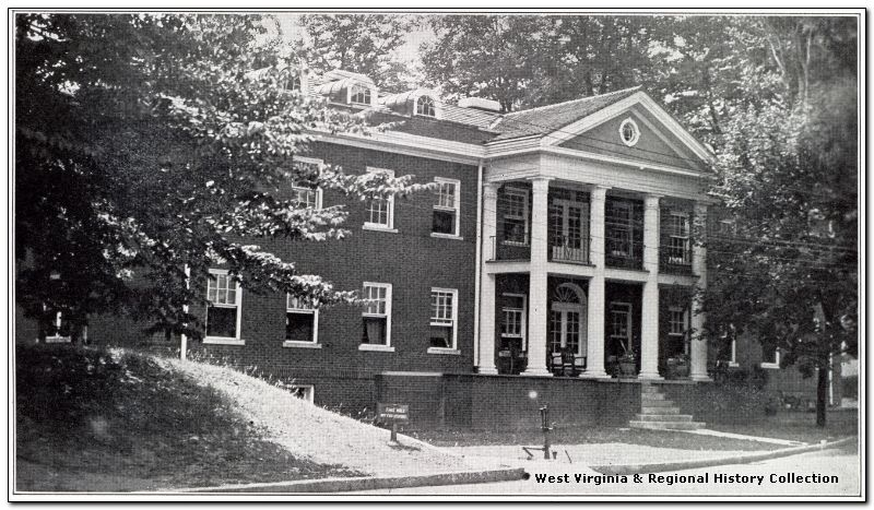 The women's ward of the hospital, 1930