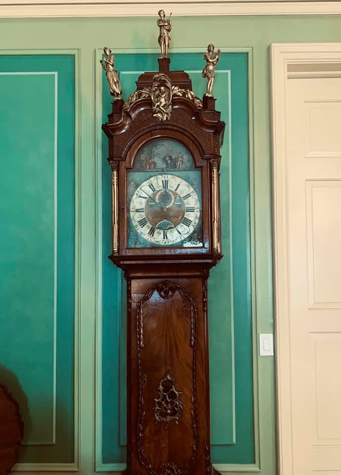 Bornholm Grandfather Clock that is Over 300 Years Old
