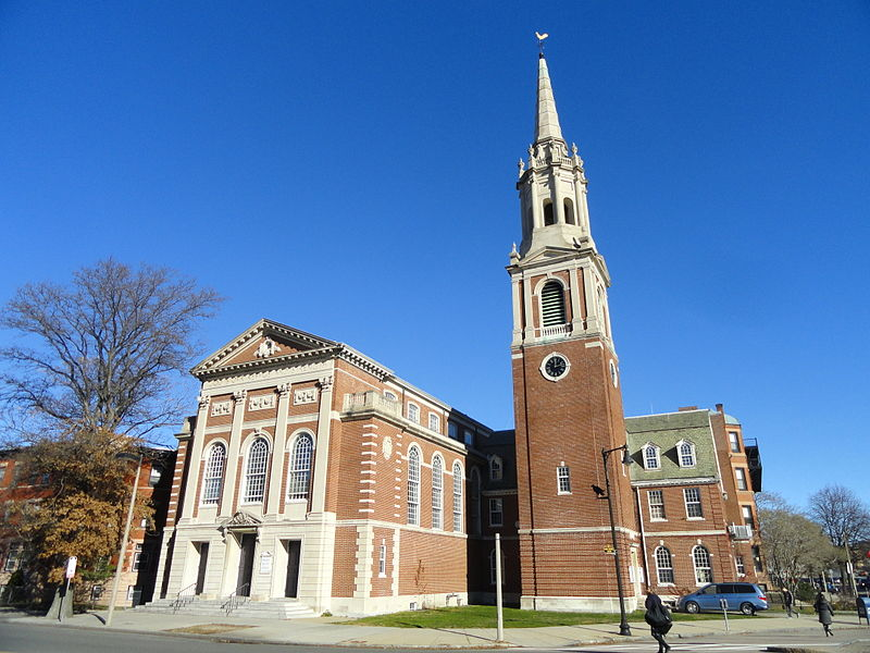 Ruggles Church (previously known as Second Church in Boston); designed by Ralph Adams Cram.