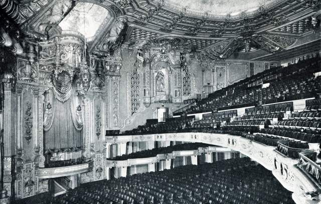 An historic photo of the theatre when it was known as the Oriental
