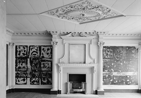 The Interior East Room on the First Floor, 1965