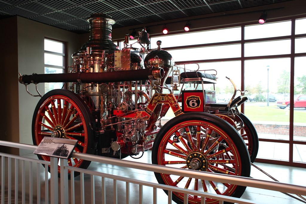 Silsby Steam Engine
