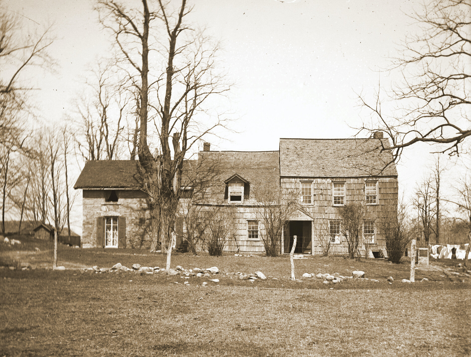 Odell House Exterior (Exact Date Unknown)