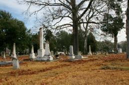 Magnolia cemetery in Baton Rouge