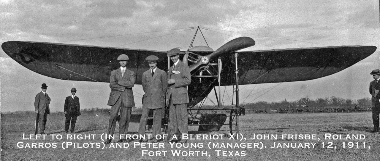 First Powered Flight in Fort Worth, January 12, 1911.