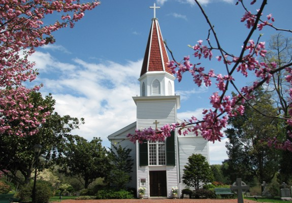 This historic church was dedicated in 1860 and continues to hold daily mass