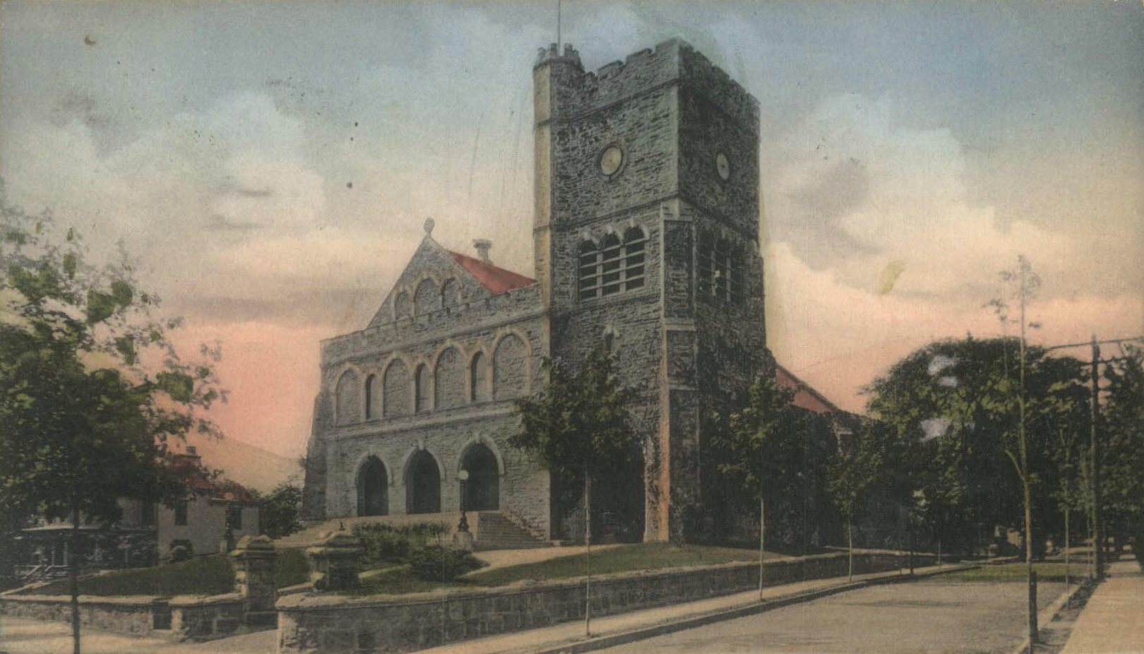 St. Peter's Episcopal Church, circa 1905.