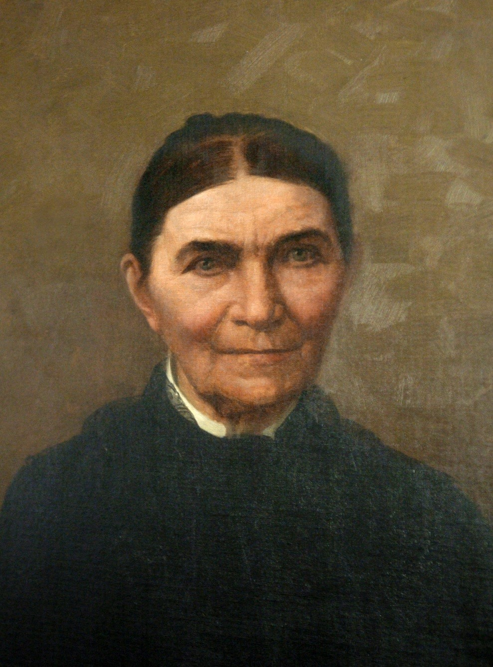 "A painting of Jane Holmes AKA ""Pittsburgh Jane."""