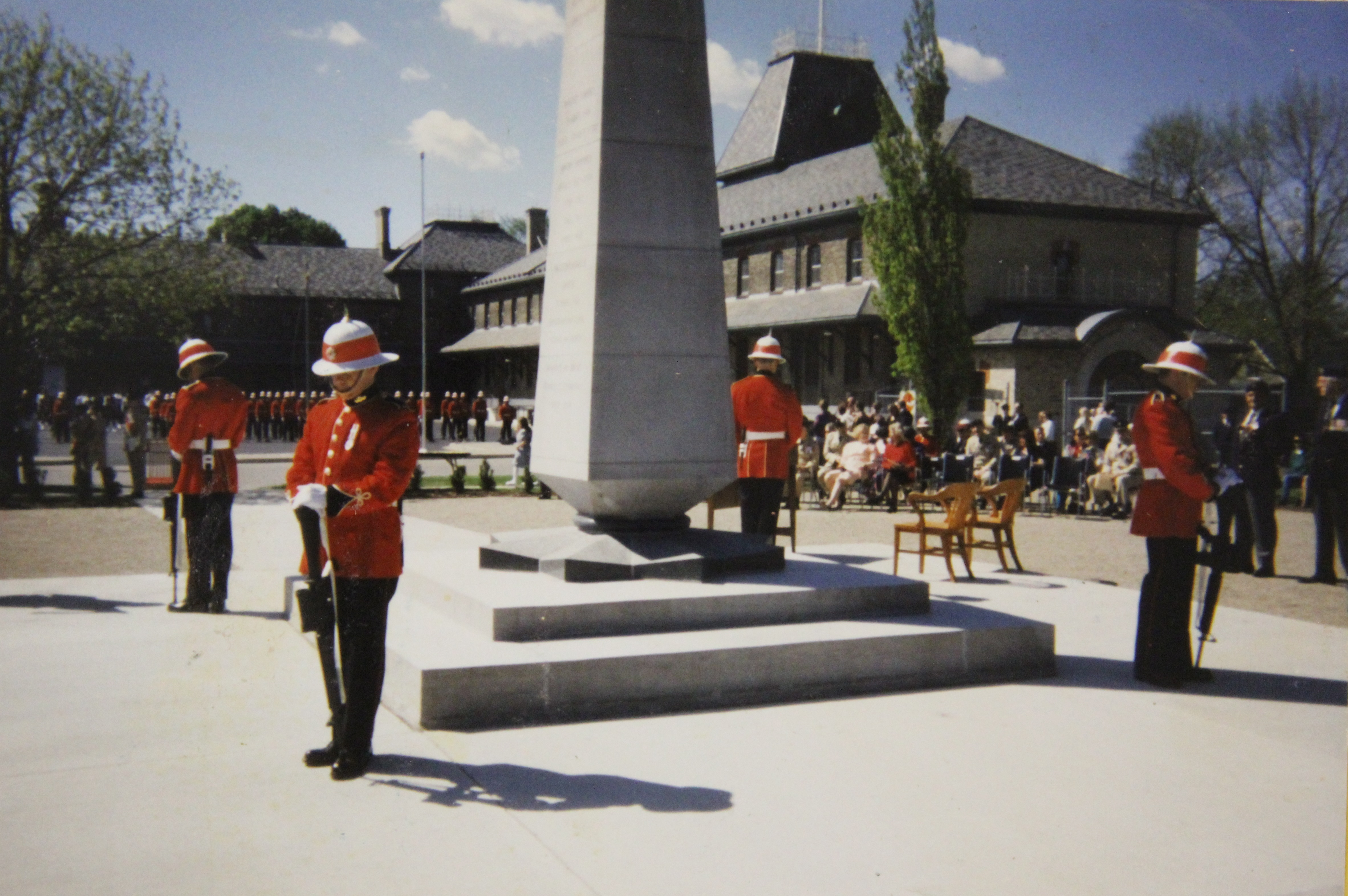 Rededication of the Cenotaph at The RCR Museum, 21 May 1995