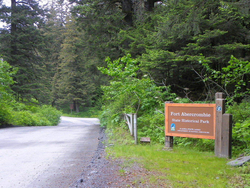 Fort Abercrombie State Historical Park, Kodiak, Alaska