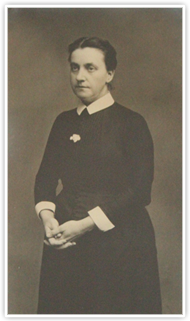 Photograph of Charlotte Mulligan.