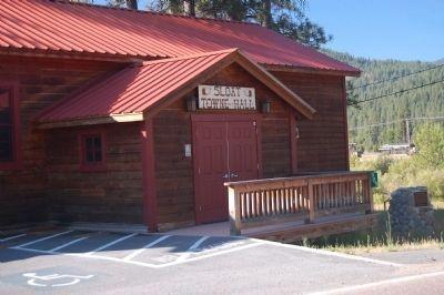 Image of Sloat Towne Hall, courtesy of Barry Swackhamer