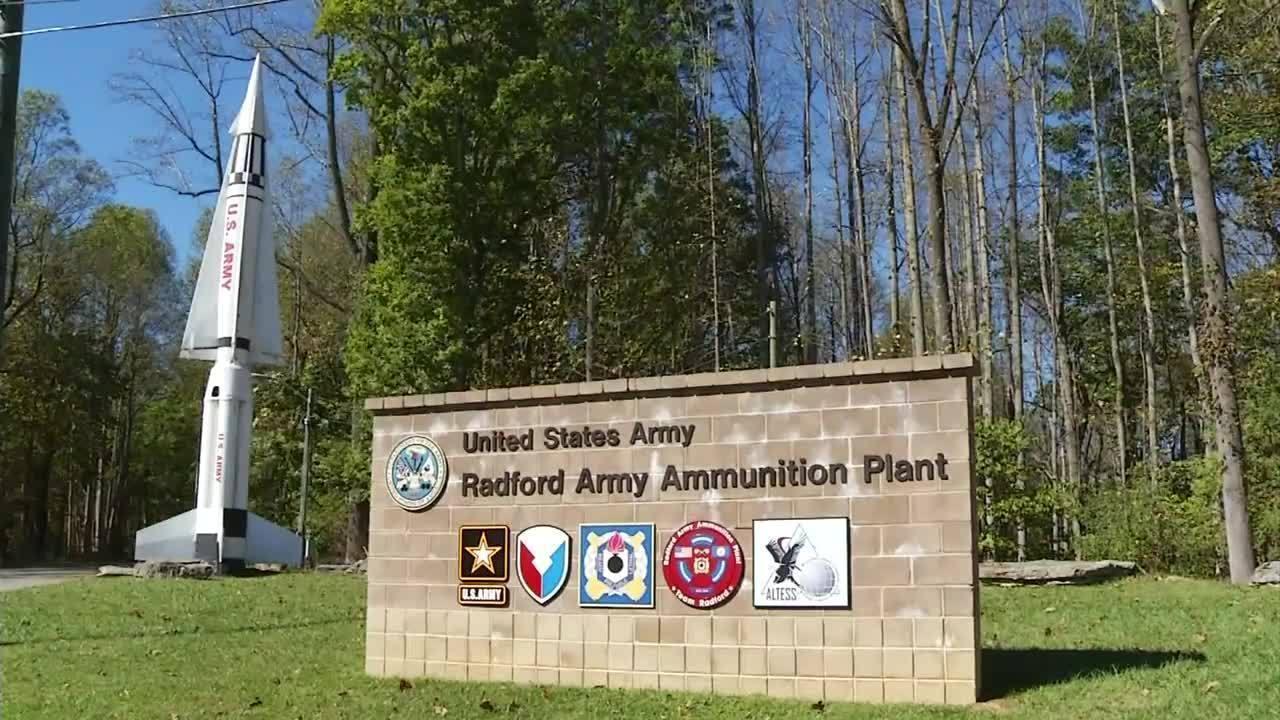 Radford Army Ammunition Plant Entry