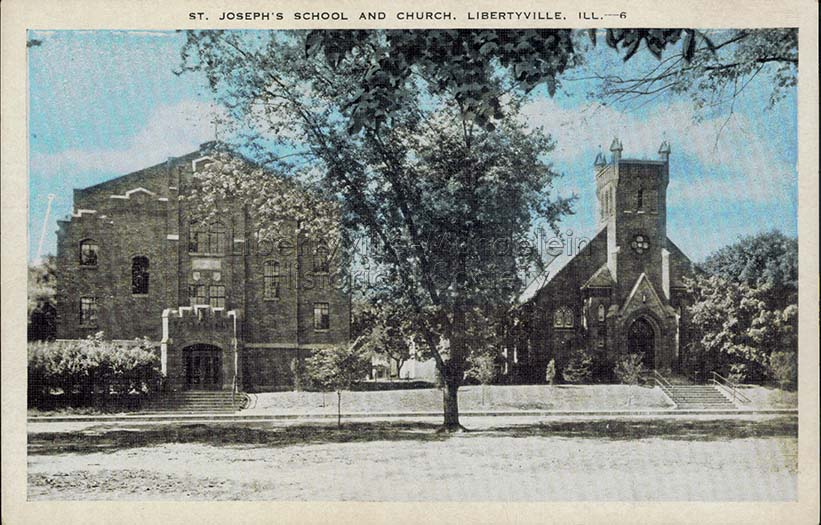 St. Joseph Church and School, after 1923