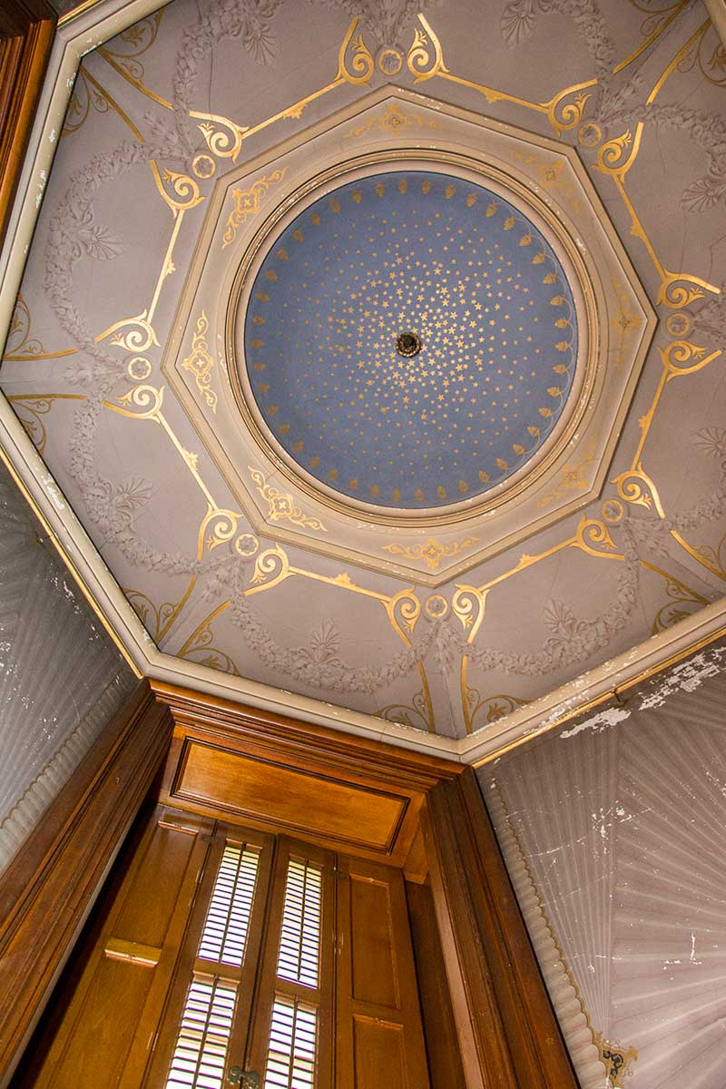 Oratory Ceiling, in Mr. Lockwood's Suite