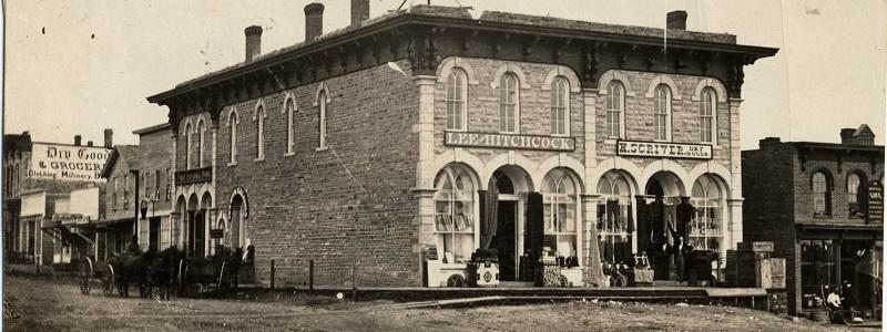 Scriver Block, c. 1876
